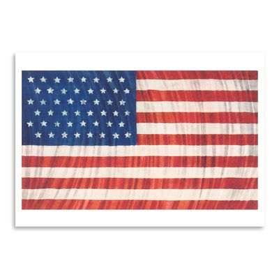 East Urban Home Flag And Search Lights Graphic Art Print Format