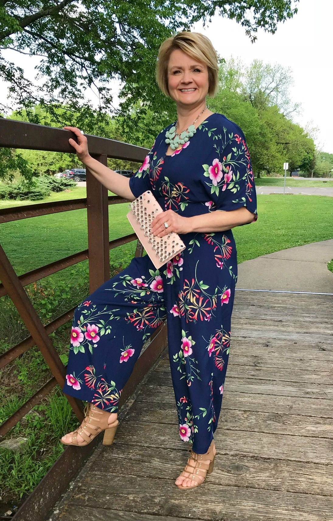 Outfit Inspiration For Women Over 50 Jumpsuit Sweaters Women Fashion Fashion Over 50 Fashion [ 1713 x 1095 Pixel ]