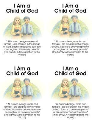 2013 Primary Scripture Cards
