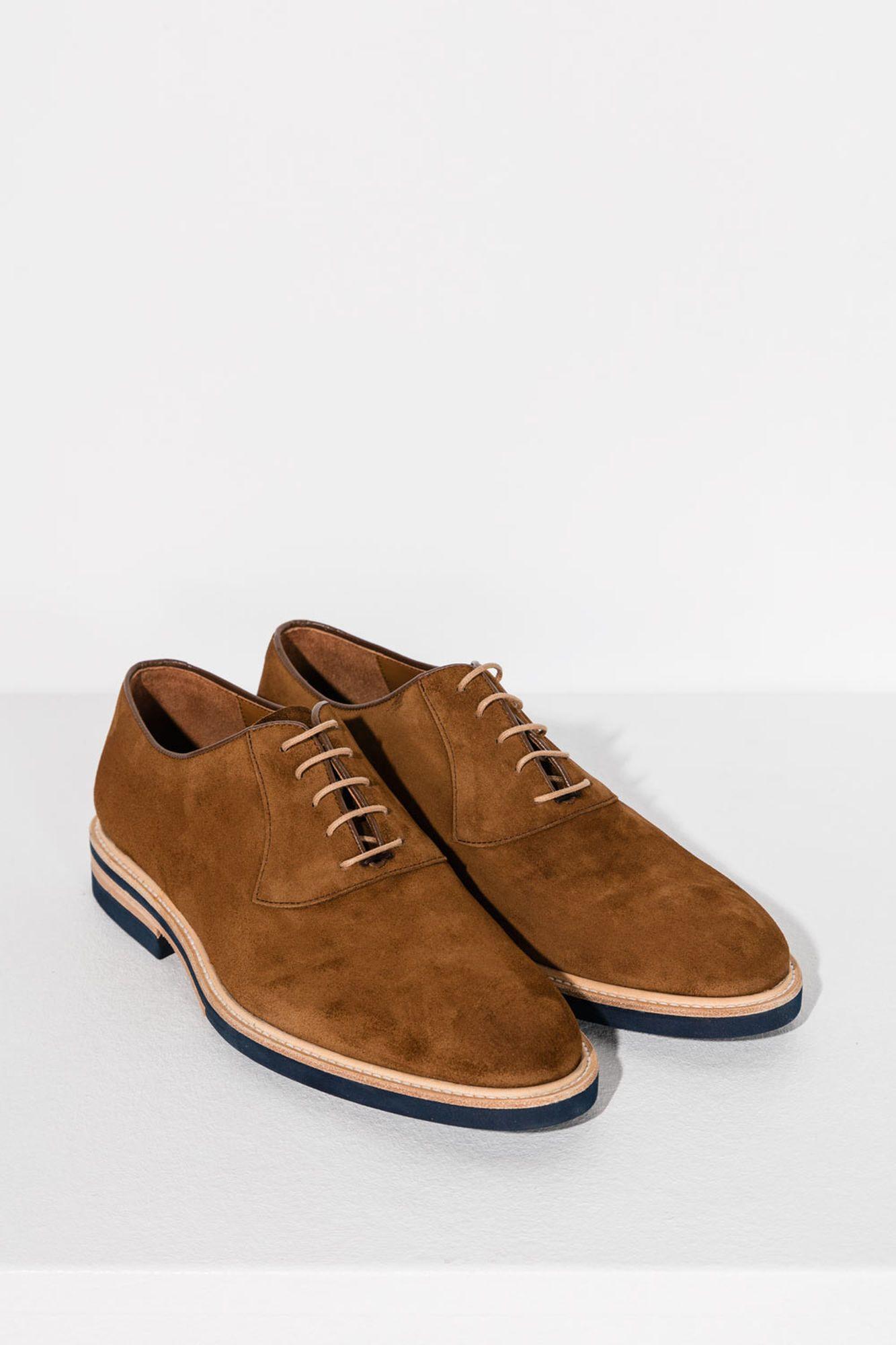 Sapatos Tweed Oxford Camurça | Sapatos casuais | Dott.pt