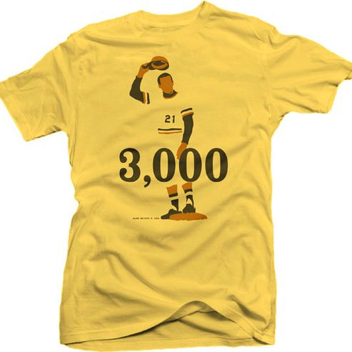 super popular 59cf4 143c4 Roberto Clemente 3,000 T-shirt #Pittsburgh #Pirates ...