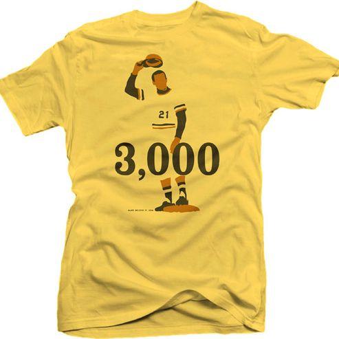 super popular 98f86 d8058 Roberto Clemente 3,000 T-shirt #Pittsburgh #Pirates ...
