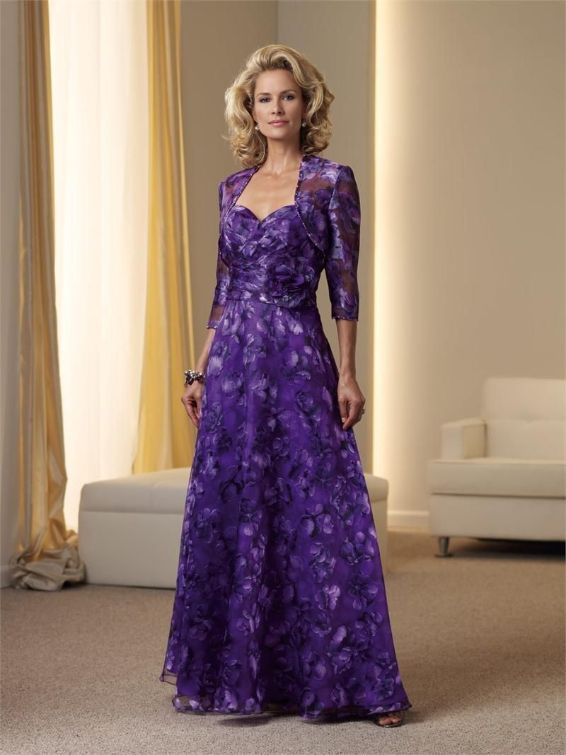 Fotos de vestidos de fiesta para señoras | A passion for purple ...
