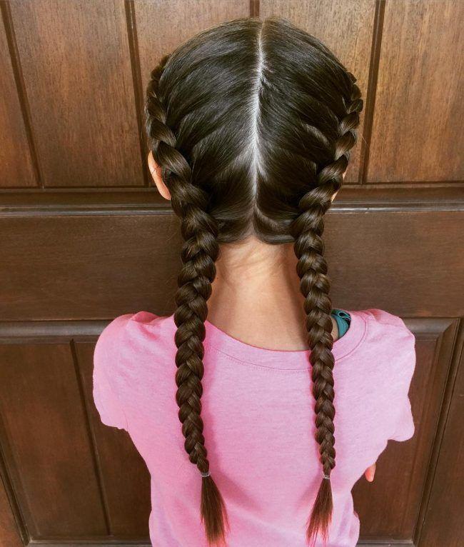 Neat dutch braids avayahs hair pinterest dutch braids 50 cute little girl hairstyles easy hairdos for your little princess check ccuart Choice Image