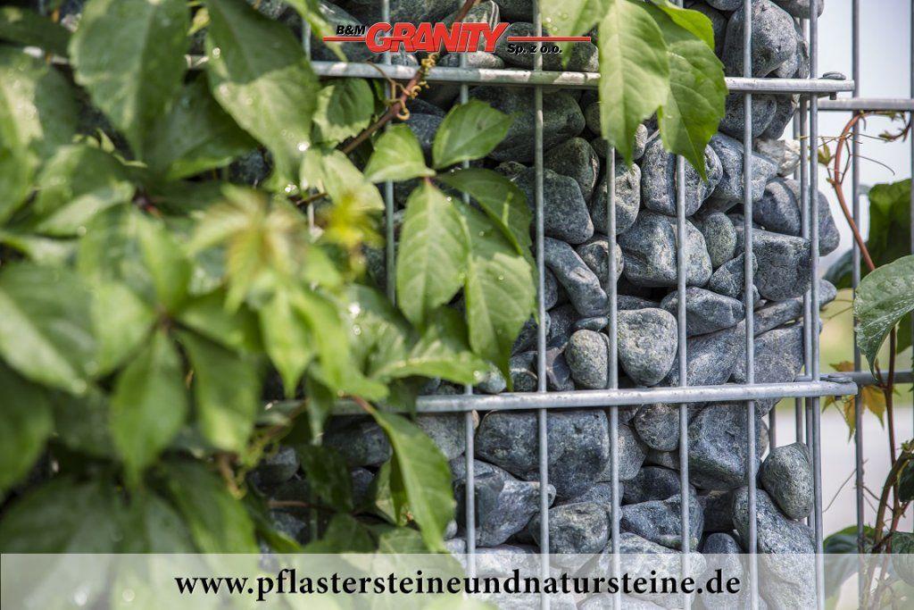Firma B&M GRANITY- Ziersteine / runde, grüne Steine aus Serpentin ...