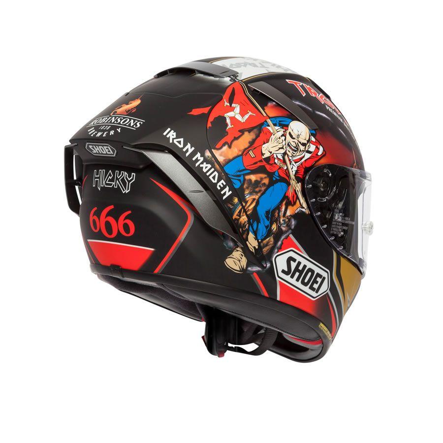 Shoei X Spirit 3 Hickman Trooper 2018 Replica Helmet Helmet Motorbike Helmet Biker Helmets