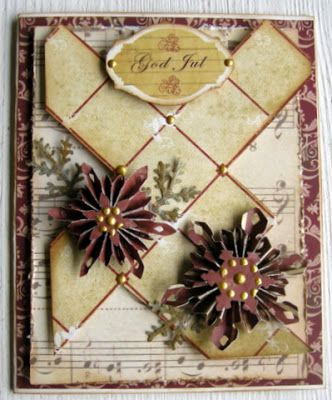 I like the tiling on this card by Pia -- piabau