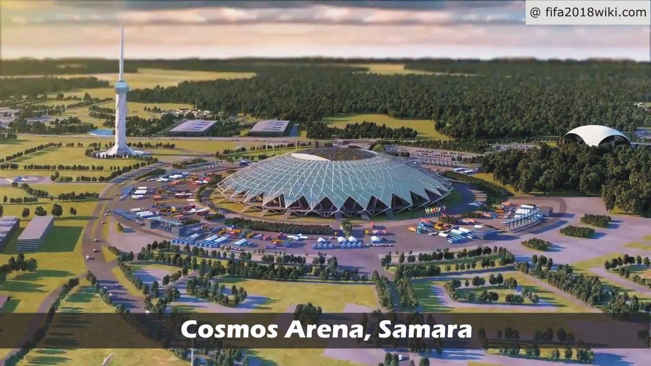 Cosmos Arena Samara Fifa 2018 Venue