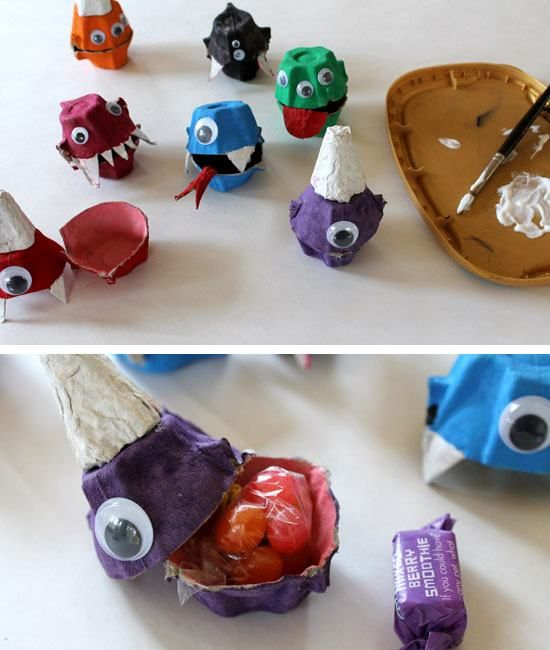 24 DIY Halloween Party Ideas for Kids Pinterest Monster treats - halloween party decorations diy