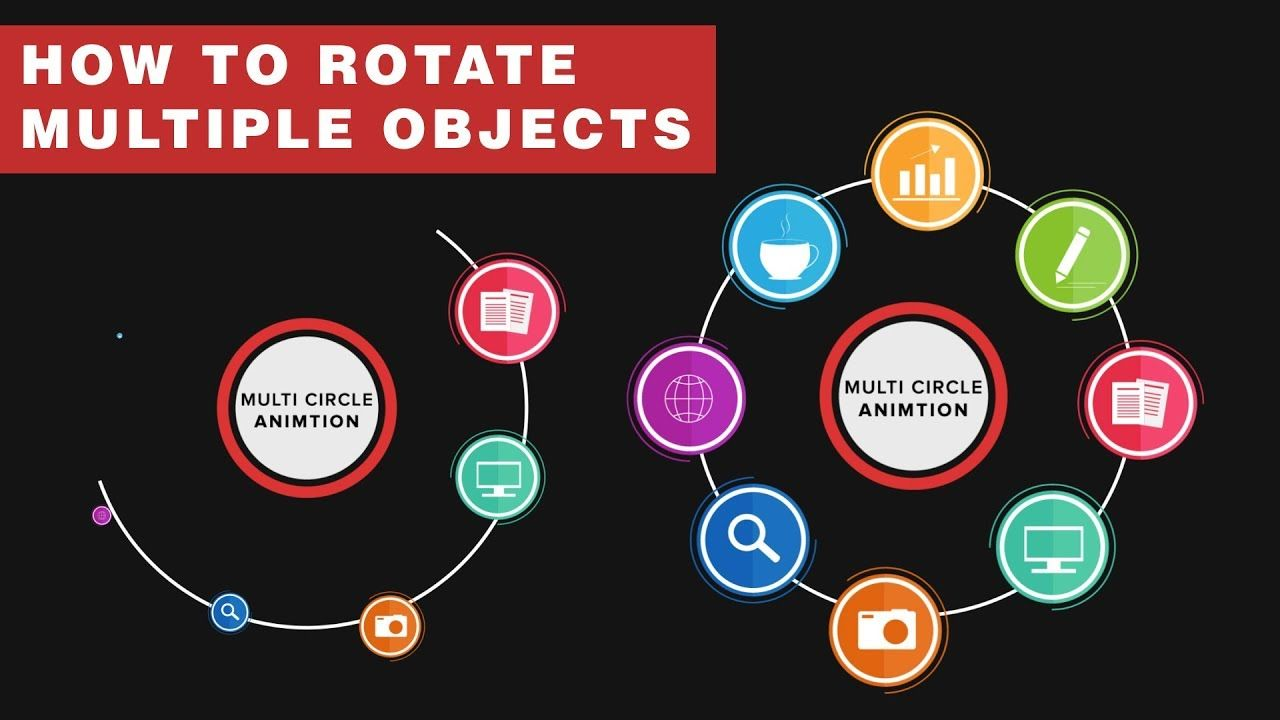 How to Animate Multiple Circle Rotation in After Effects