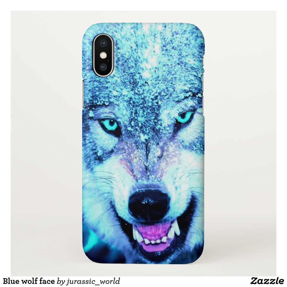 wolf iphone x case