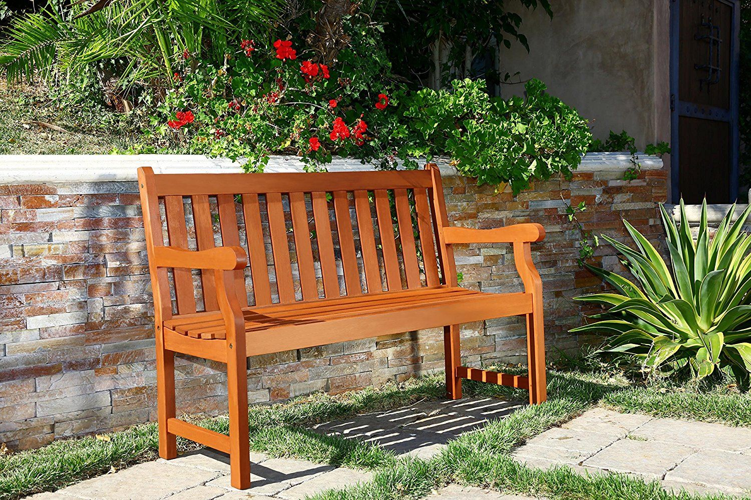 Built Sturdily Yet Eloquently This 2 Person Bench Will Fit Any