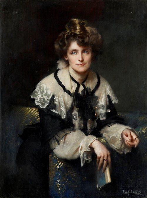 Mrs J. Downs - Frederick William Elwell  1907