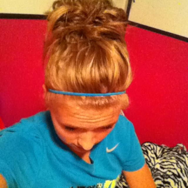 Messy buns are the best!