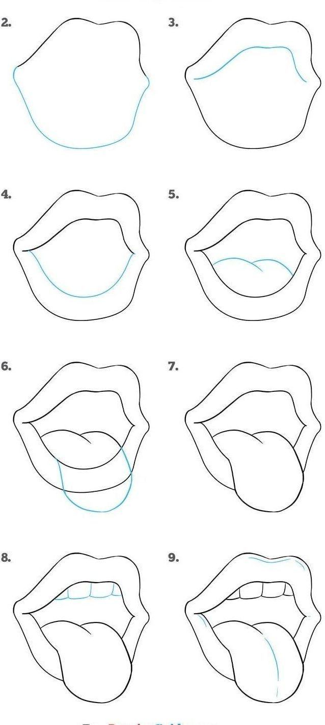 20 Easy Drawing Tutorials for Beginners   Cool Things to Draw Step ...