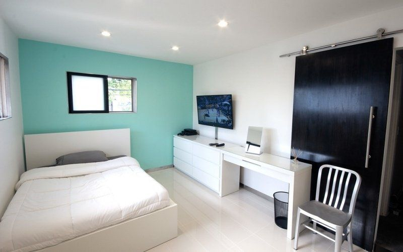 Couleur peinture chambre à coucher u2013 30 idées inspirantes Design - couleur des portes interieur