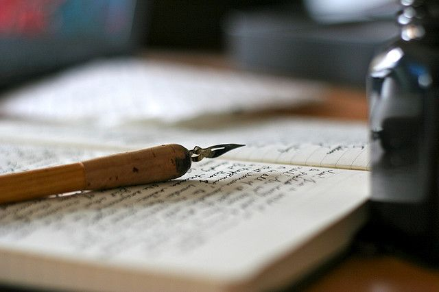 I love to write. If I were able to, I'd write and write forever. And even then I'd still write. Writing is my release.