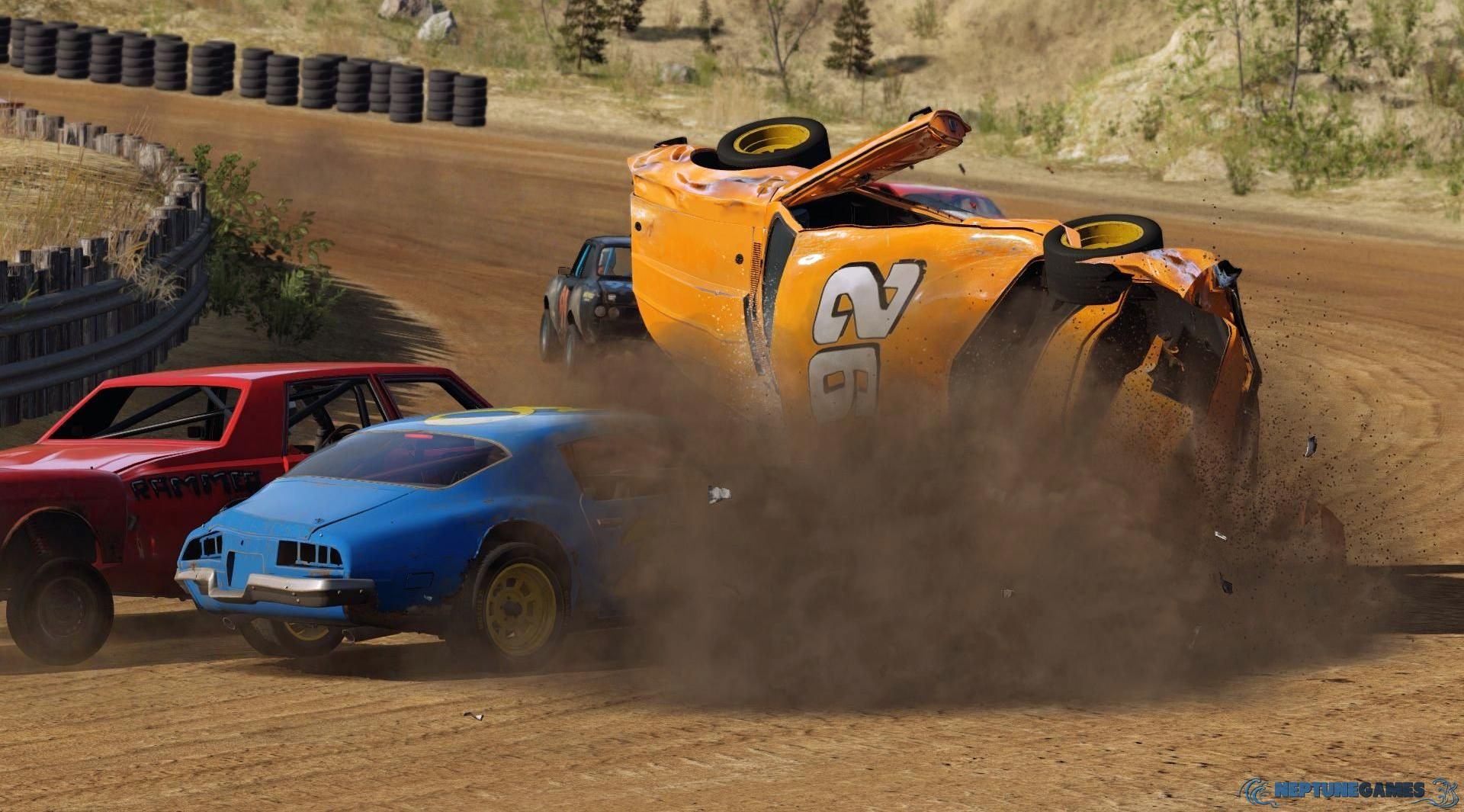 Next Car Game Wreckfest for PC, PS4 and Xbox One Gets New