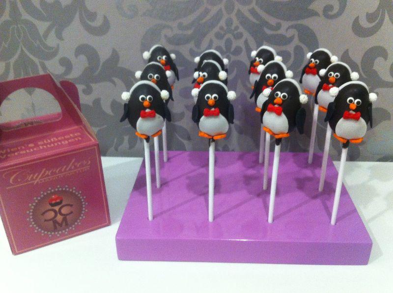 cakepops pinguine