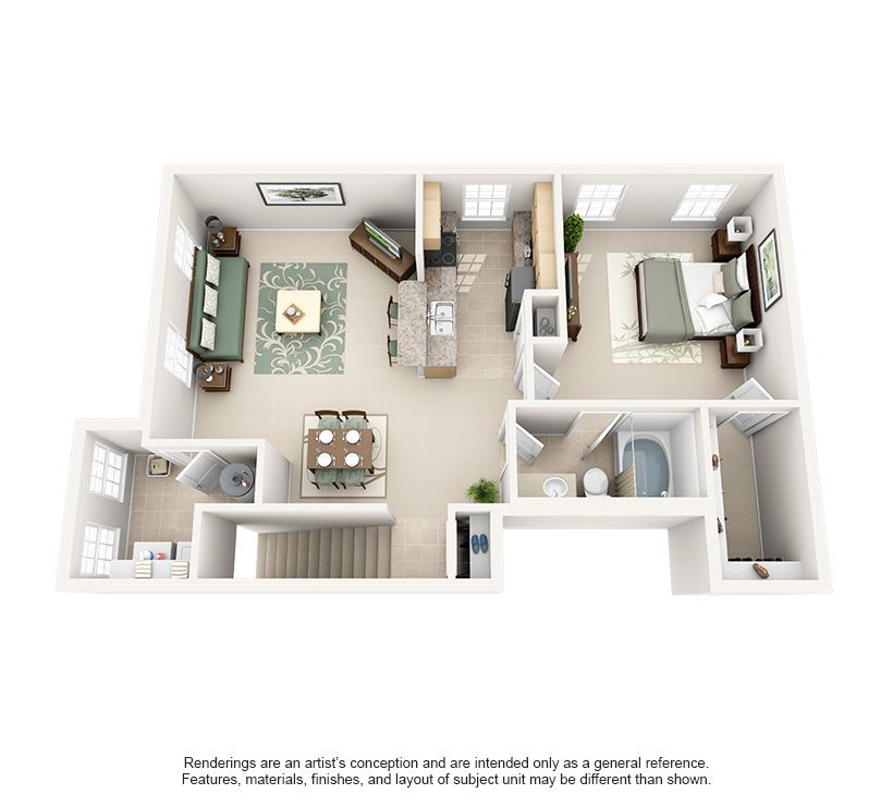 Luxury 1 2 And 3 Bedroom Apartments In Lexington Ky Lexington Kentucky Apartment Steadfast Apartment Deco Apartment Floor Plans Apartment Design