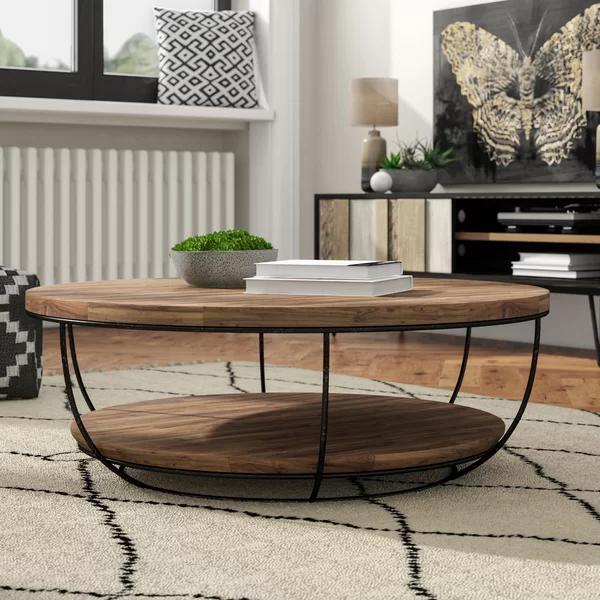 Hokku Designs Coffee Table With Storage, Wayfair Round Coffee Table