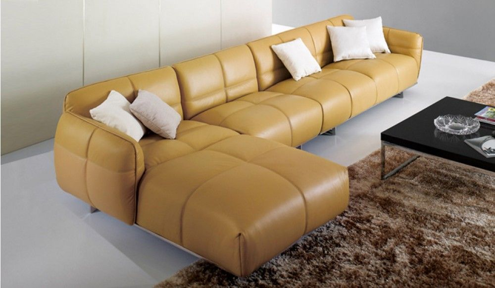 Bacchus Leather Modular Sofa Delux Deco
