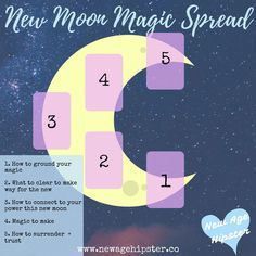 New Moon Magic Spread for Tarot or Oracle — New Age Hipster