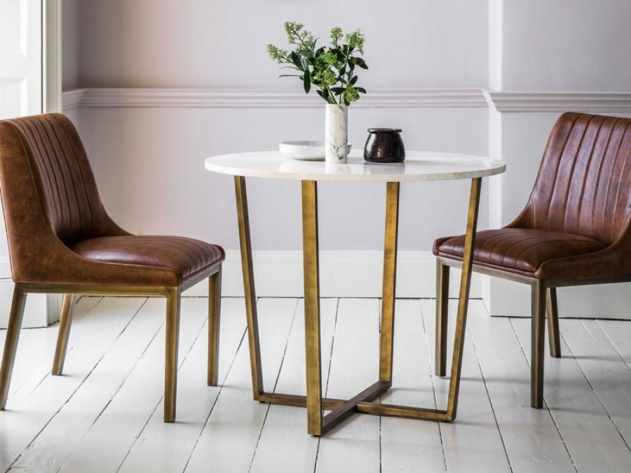 Marble Top Dining Table By Gallery Direct Dining Table Marble
