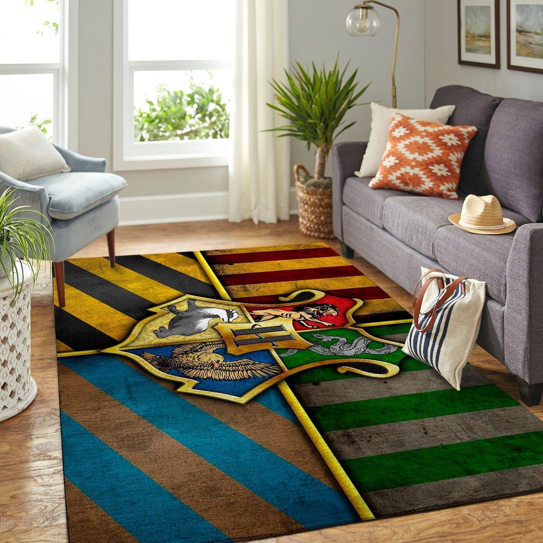 Harry Potter Hogwarts Movie Rug Room Carpet Sport Custom Area