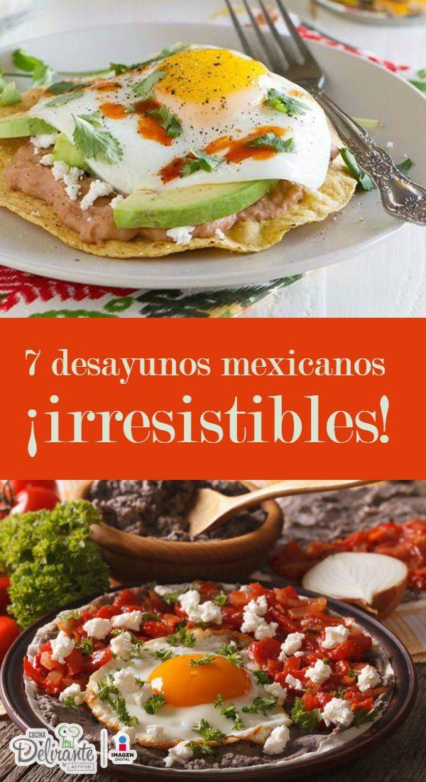 Desayunos mexicanos saludables y faciles