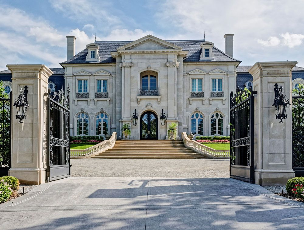 Traditional French Architecture Detailed Out To The Int Degree From Studs Interior Design