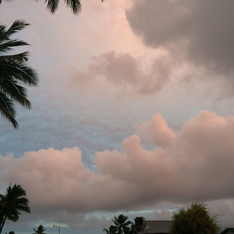 Kailua clouds