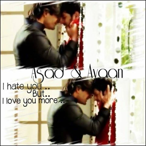 Qubool Hai Ayan asad and ayan |...