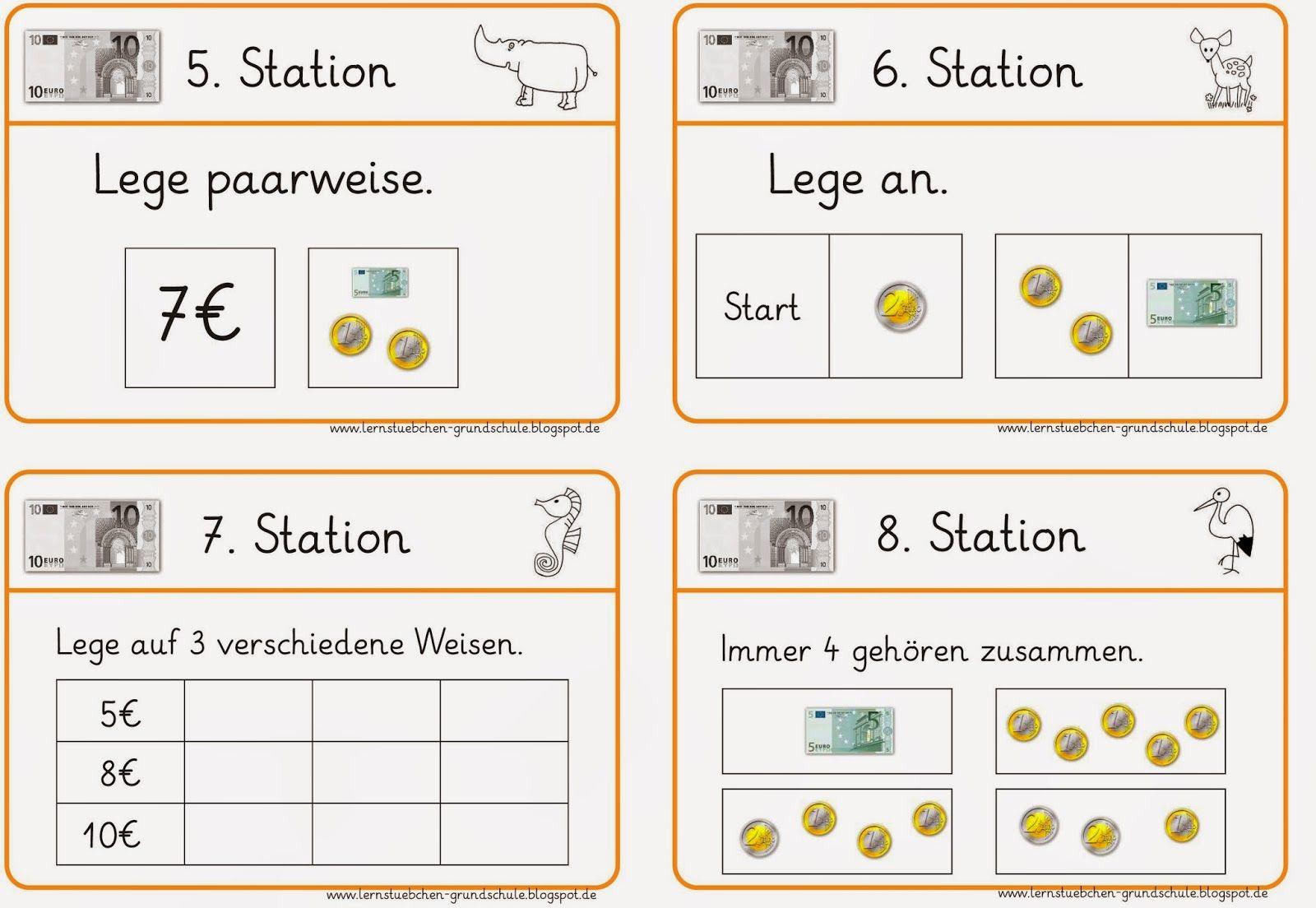 Stationskarten Zum Geld Fortsetzung