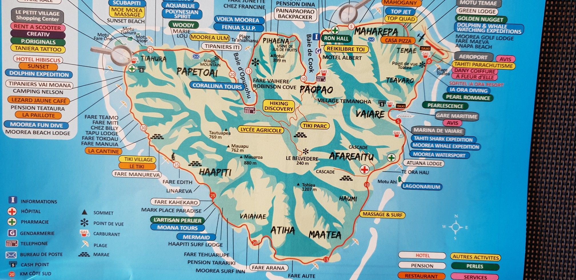 Map Of Moorea French Polynesia French Polynesia Map Sunset