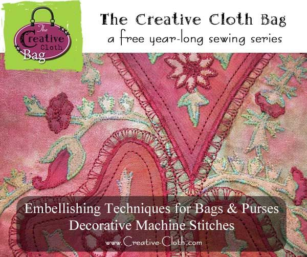 Embellishing Techniques For Bags And Purses Decorative Machine