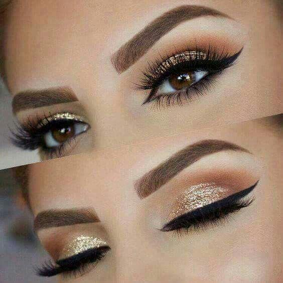 Orange and gold makeup | Makeup | Pinterest | Makeup, Gold and Eye