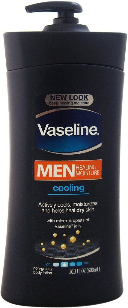 Vaseline R Men Healing Moisture Cooling Lotion 20 3 Oz 1 Units