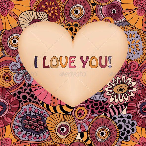 Valentine's Greeting Card