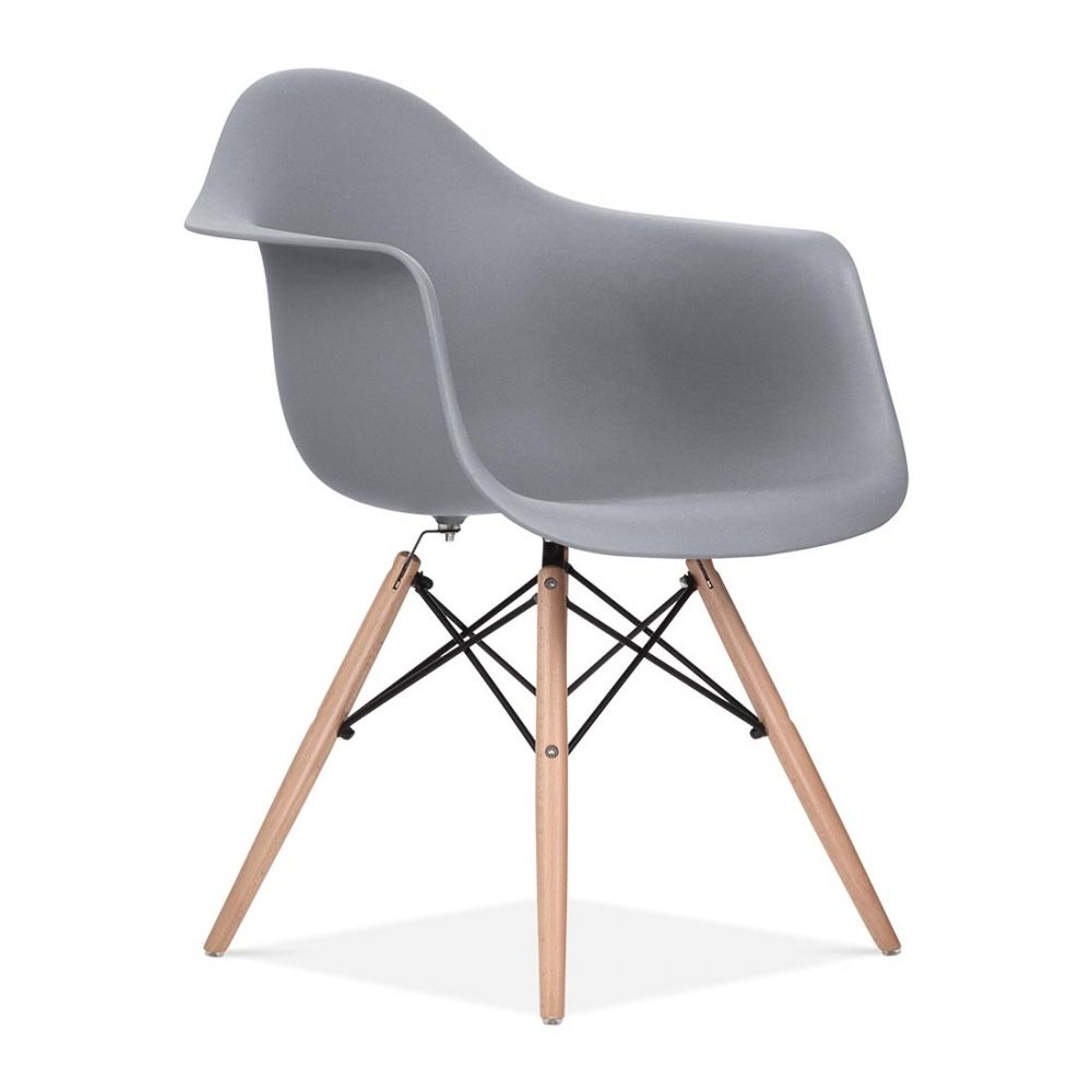 Schreibtischstuhl modern grau  Charles E Style Kühles Grau DAW Stuhl | Interior | Pinterest ...