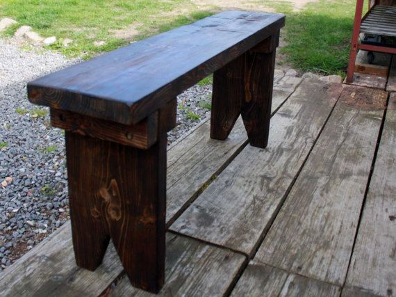 Bench Bench Bank Kaminbank bench Bench House Furniture vintage solid wood shabby chic rustic