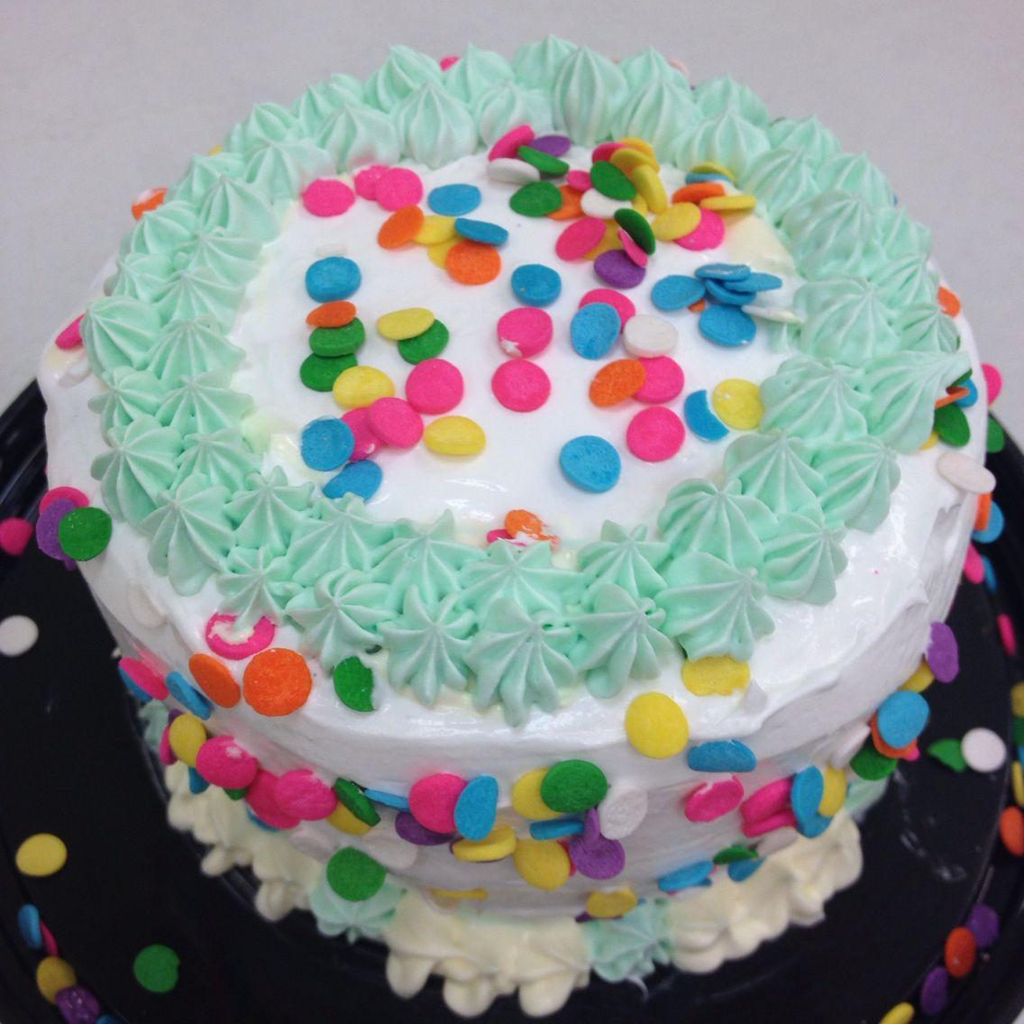 Confetti frozen yogurt baby cake from yofreshhatfield