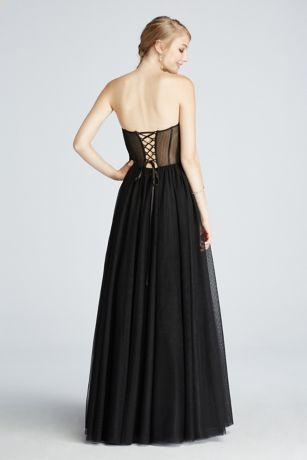 a classic ball gown with trendy updates this unique