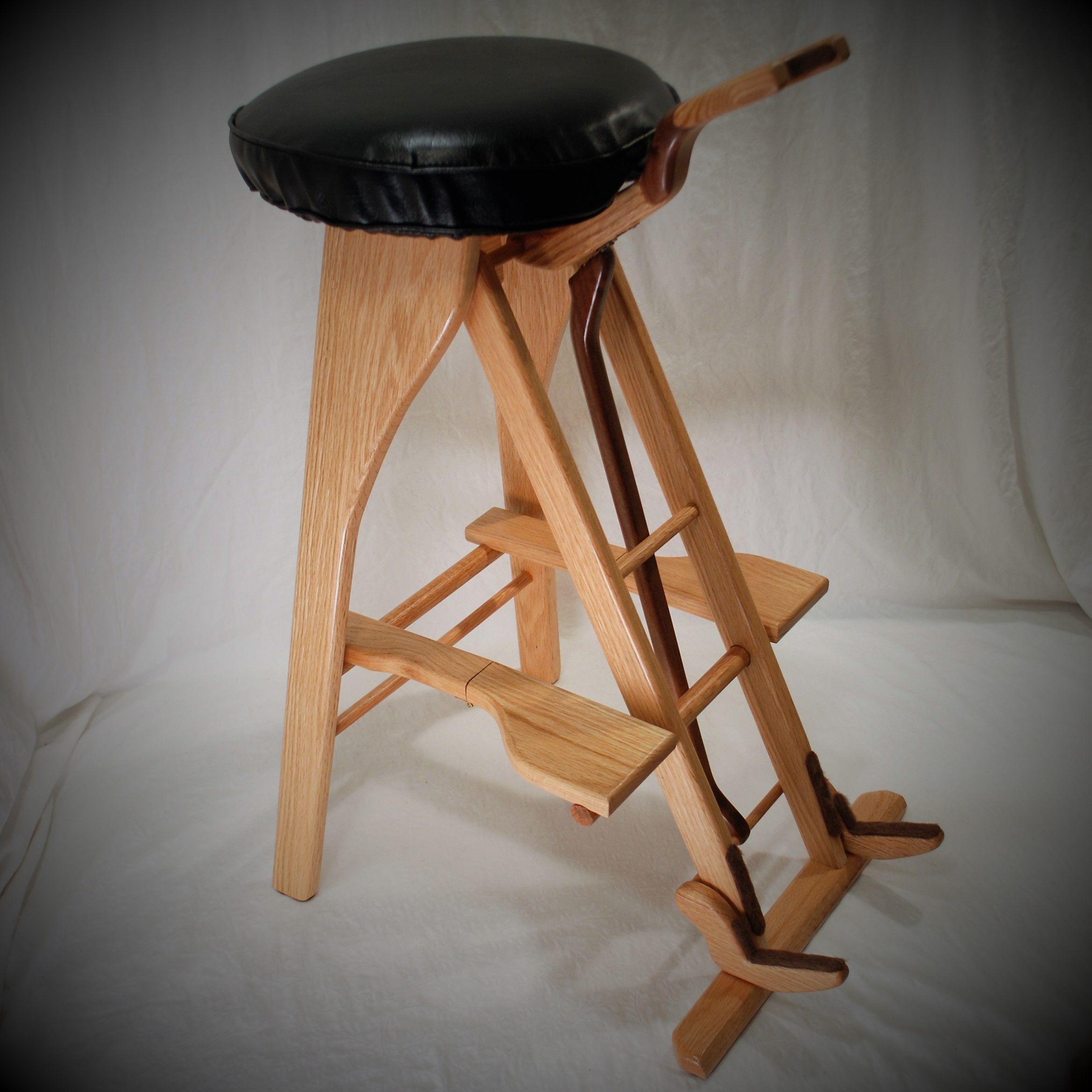 guitar stool stand by south mountain woodworks carpinteria carpinteria. Black Bedroom Furniture Sets. Home Design Ideas
