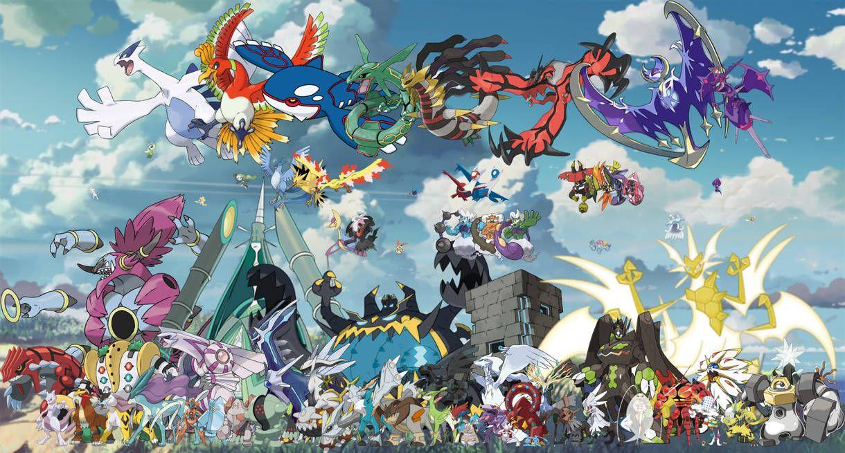 All Legendary Mythical Ub Pokemon By Https Www Deviantart Com Davidbksandrade On Deviantart All Legendary Pokemon Mythical Pokemon Pokemon