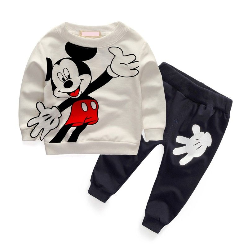 249128bab1019 New 2017 Newborn Baby Boys Clothes Sets Spring Kids Boy Cartoon Outfit  Casual Cotton Costume Baby Clothing Suit CC230-CGR1