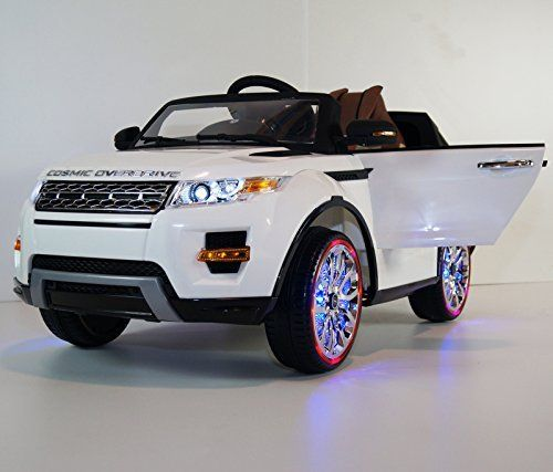 2015 Range Rover Sx Style 12v Kids Ride On Power Wheels Battery Toy Car Leather Seat White Http Www Amazon Co Toy Cars For Kids Toy Cars For Sale Kids Jeep