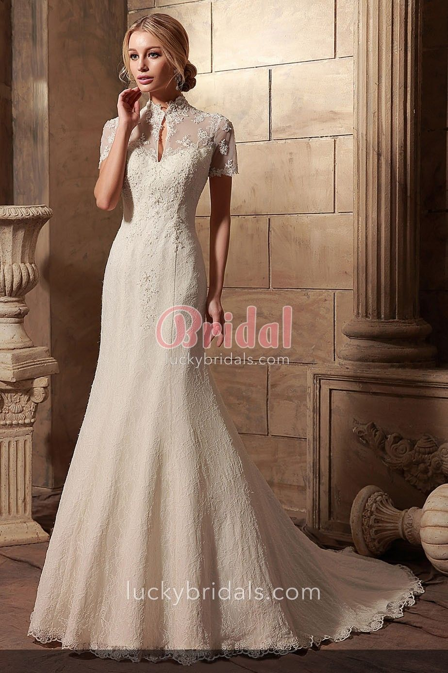 Site Currently Unavailable High Collar Wedding Dress Wedding Gowns Vintage Wedding Dress Types [ 1385 x 923 Pixel ]