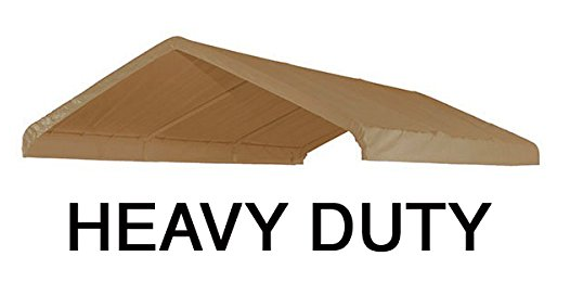10x20 Heavy Duty Beige Canopy Top Cover With Valance Replacement Canopy Canopy Heavy Duty