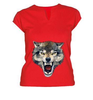 Camiseta Wolf Techy Art  - angeldecuir